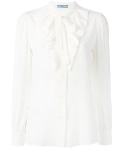 Prada | Pussy-Bow Blouse Size 44
