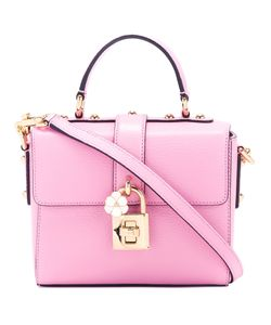 Dolce & Gabbana | Padlock Detail Satchel Leather