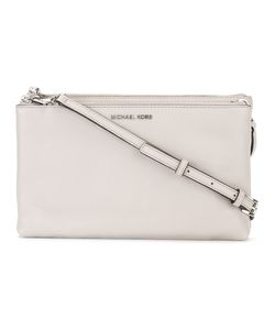 Michael Kors | Adele Double Zip Crossbody Bag Calf Leather