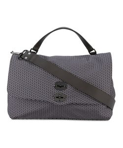 ZANELLATO | Patterned Satchel With Latch Closure Polyamide/Leather