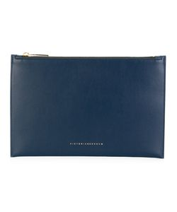 Victoria Beckham | Small Classic Clutch Calf Leather/Polyamide/Polyurethane