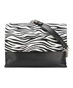 Lanvin | Zebra Print Shoulder Bag