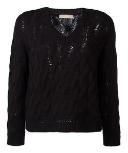 Cruciani   Cable Knit Jumper Size 40