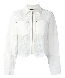 Mcq Alexander Mcqueen | Hybrid Lace Denim Jacket Size 40