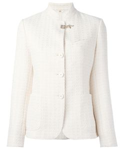 Fay | Embossed Print Fitted Jacket