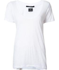 Ksubi | Scoop Neck T-Shirt Xs Cotton