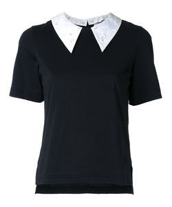 Muveil | Embellished Collar T-Shirt 36