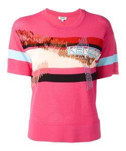 Kenzo | Mesh Panel T-Shirt Size Medium