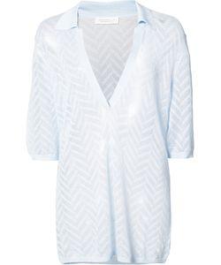 Gabriela Hearst   Zigzag Pattern Jumper Medium Silk