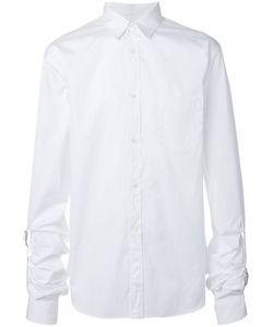Comme Des Garcons | Comme Des Garçons Shirt Buckle Detail Poplin Shirt Size Medium