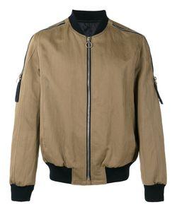 Joseph | Zip Detail Bomber Jacket Size Small