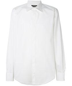 Dsquared2   Рубашка С Косым Воротником