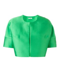 P.A.R.O.S.H. | Short Sleeved Crop Length Jacket Xs Polyester/Silk