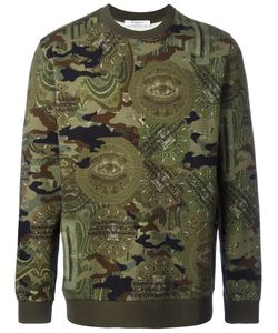 Givenchy | Camouflage Print Sweatshirt Large Cotton