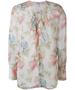 Dondup | Print Semi-Sheer Blouse
