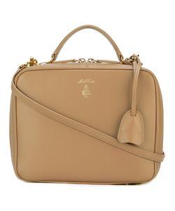 Mark Cross   Laura Shoulder Bag Leather/Cotton