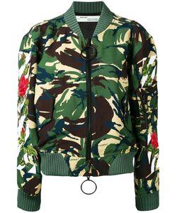 OFF-WHITE | Camouflage Bomber Jacket S