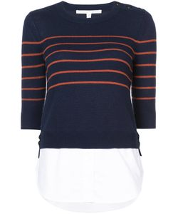 Veronica Beard | Striped Layered Sweater Women