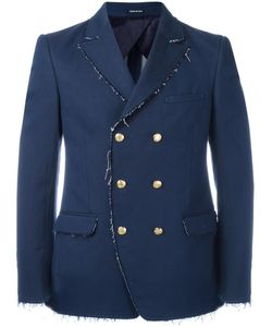Alexander McQueen | Double Breasted Jacket 46 Cotton/Polyamide/Viscose