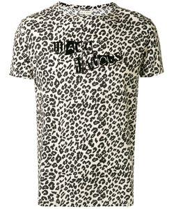 Marc Jacobs | Logo Leopard Print T-Shirt Xs Cotton