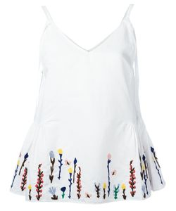 Mih Jeans | Embroidered Flowers Cami Size Xs