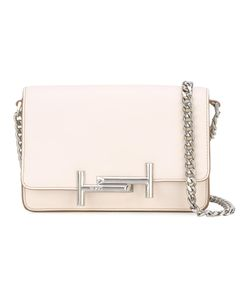 Tod'S | Double T Crossbody Bag Calf Leather/Polyester