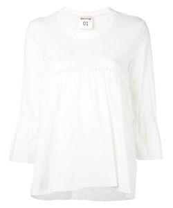 Semicouture | Gathered T-Shirt Size 42