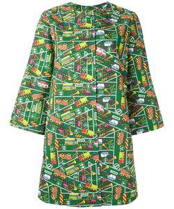 Ultràchic | Transport Print Coat 44 Cotton