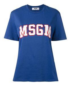 MSGM | Футболка С Принтом-Логотипом