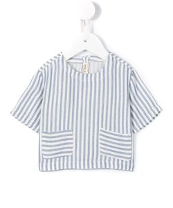 Babe And Tess | Striped Front Pocket T-Shirt Infant 6 Mth