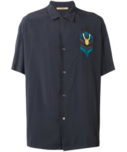 Nuur | Embroidered Figure Shirt Size 50