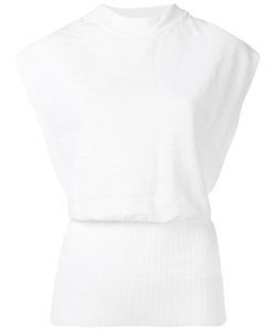 Erika Cavallini | Open Back Knitted Blouse 42 Polypropylene
