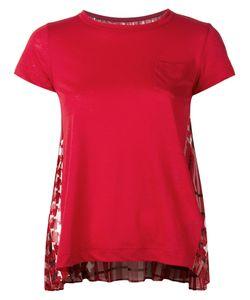 Sacai | Scarf Print T-Shirt 2 Linen/Flax/Polyester