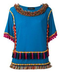 ROSSELLA JARDINI   Frayed T-Shirt