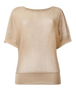 Michael Michael Kors | Short Sleeve Jumper Small Cotton/Acrylic/Polyester/Metal