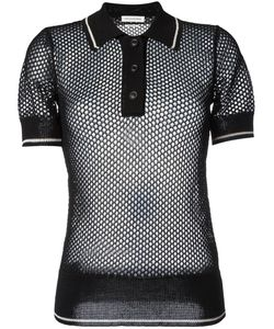 Isabel Marant Étoile | Knitted Polo Shirt 38 Viscose/Polyester