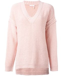 See By Chloe | See By Chloé Knit V-Neck Jumper Size Medium