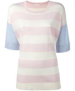 Chinti And Parker | Striped Knit T-Shirt Xs Merino