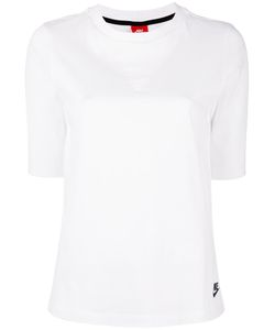 Nike | Mesh Panel T-Shirt Large Cotton/Nylon/Spandex/Elastane