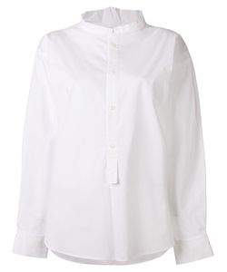 Y'S | Band Collar Shirt 2 Cotton/Polyurethane