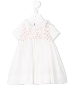 LITTLE BEAR | Hand Smocked Dress Infant 9 Mth