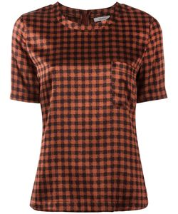 Ganni | Checked Blouse Size 40