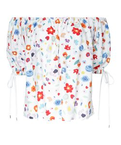 G.V.G.V. | Printed Off Shoulder Blouse 34 Rayon
