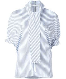 J.W. Anderson | J.W.Anderson Rouched Sleeve Blouse 6 Cotton