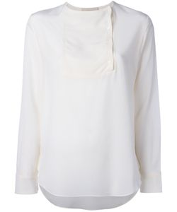 Vanessa Bruno | Off Centre Buttons Blouse 36 Silk
