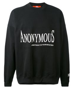 HOOD BY AIR | Толстовка Anonymus