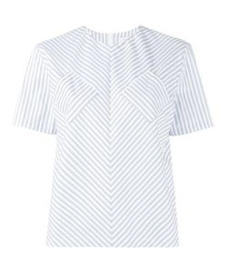 J.W. Anderson | J.W.Anderson Contrast Pocket Striped Top 14 Cotton