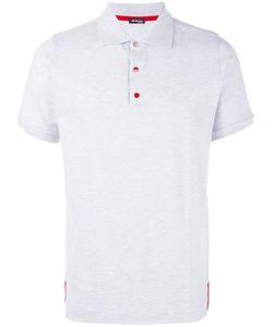 Kiton | Рубашка-Поло С Контрастными Пуговицами