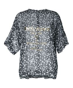 Theatre Products   Sheer Printed Blouse Cotton
