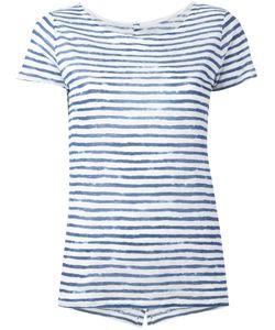MAJESTIC FILATURES | Semi-Sheer Striped T-Shirt